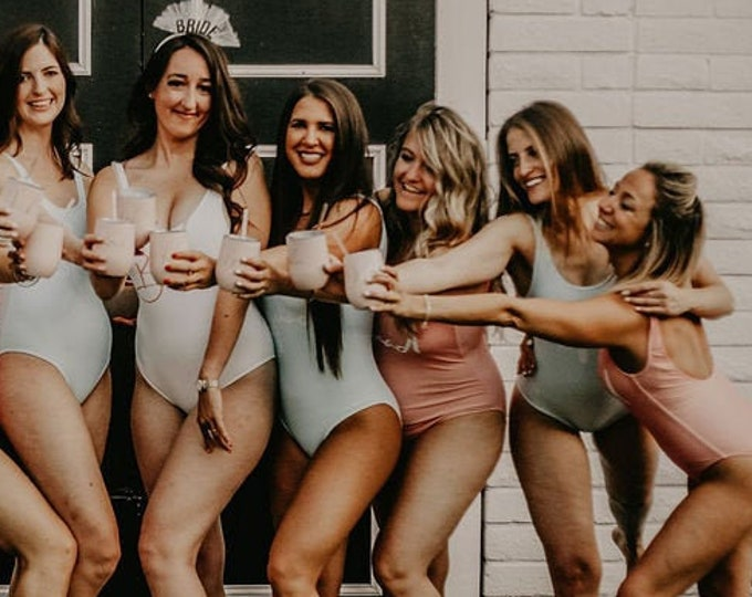 Custom Bachelorette Party Swimsuit