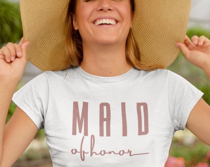 Bridesmaid & Maid of Honor Shirts
