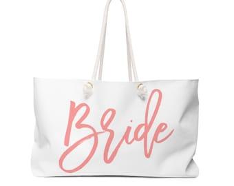 Bride's Weekender Tote Bag