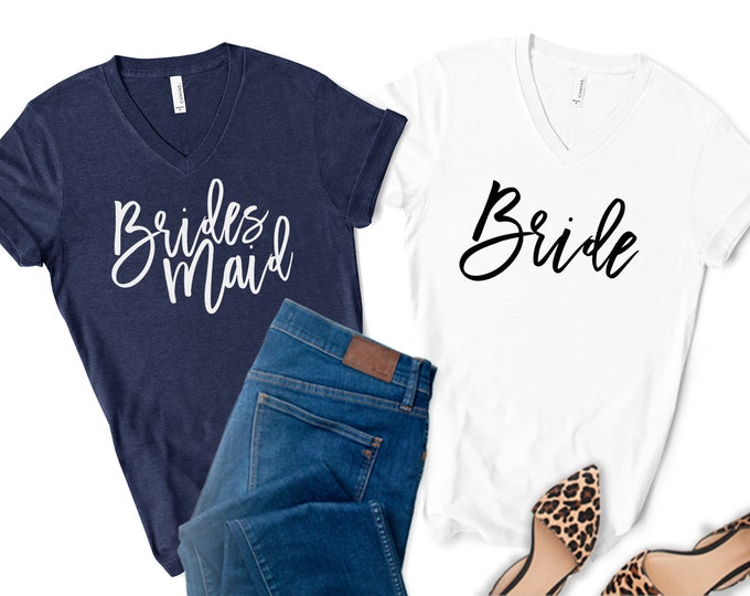 Bridesmaid Shirt, Bridesmaid Proposal, Maid of Honor Shirt, Bride Shirt, Bridesmaid Gift, Bridal Party Shirt, bachelorette shirts