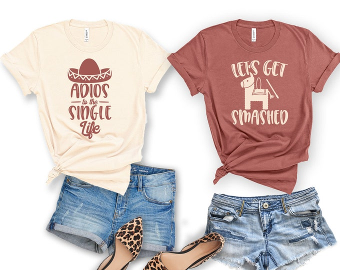 Fiesta Bachelorette Party Shirt
