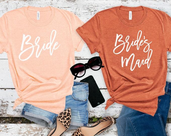 Bridesmaid Shirts, Bachelorette Party Shirt