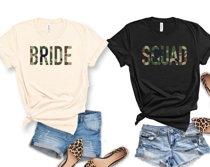 Bride Shirt | Bride Squad Shirt
