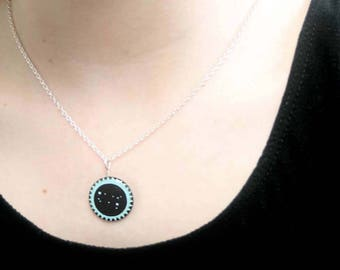 Gemini jewellery, necklace for May or June birthday