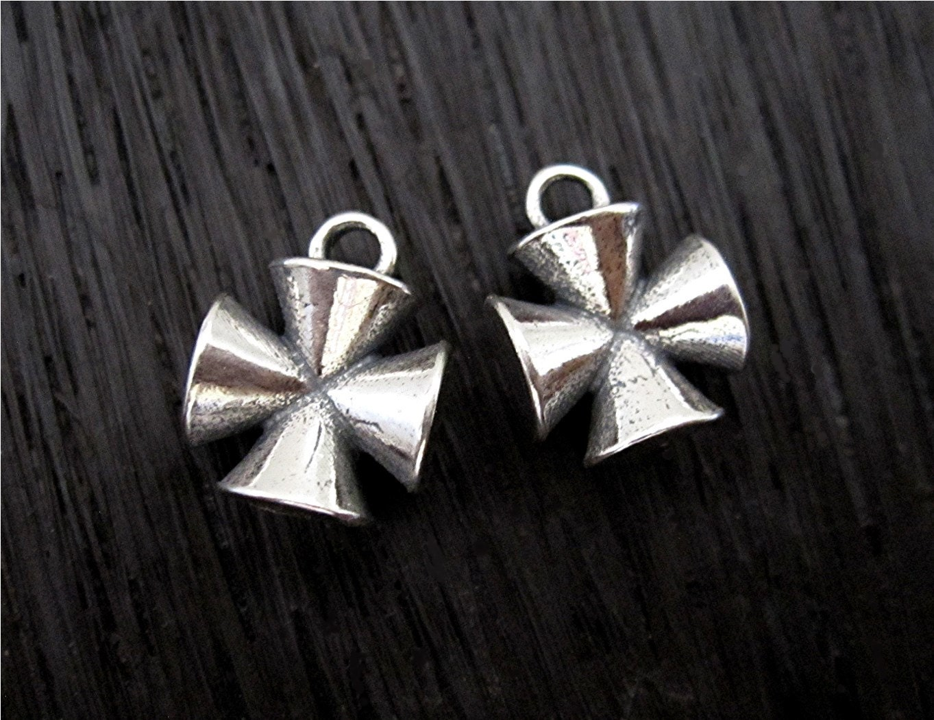 Sterling Silver Small #99 Charm 20x14mm