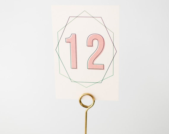 isla table numbers  //  lola louie paperie