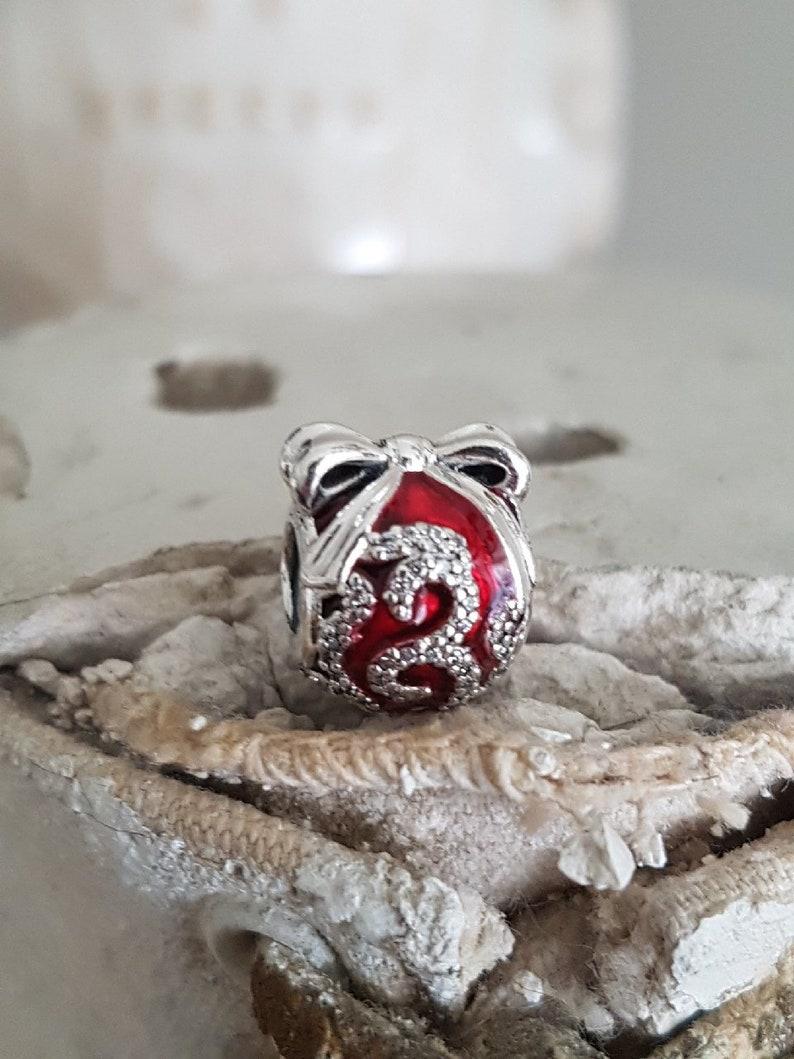 281061115 Authentic Pandora Bright Ornament Charm Ltd Edition Black | Etsy
