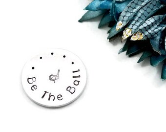Be The Ball Hand Stamped Golf Ball Marker   Golf Gifts For Men   Fathers Day Gift   Dad Gifts   Dad Birthday Gift   Golf Gifts