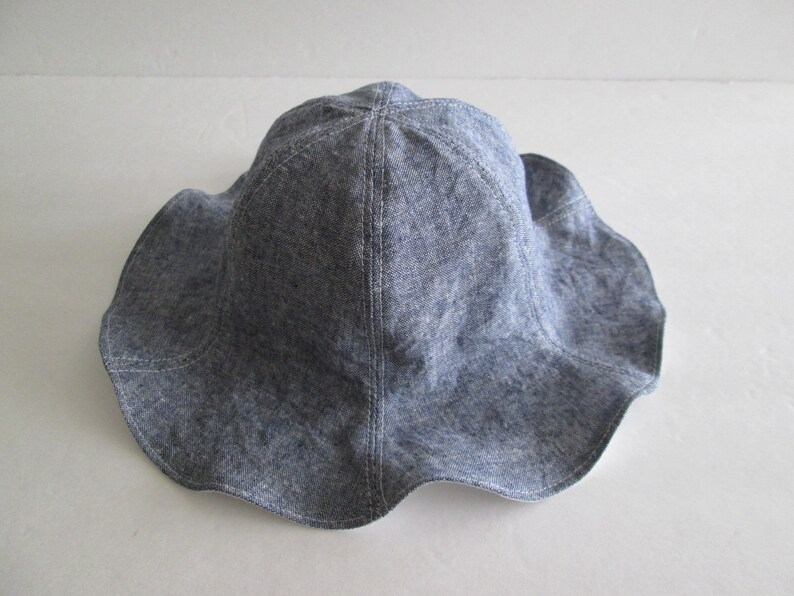 4 Colors Linen Baby Sun Hat Children s Summer Hat  6e7b9c51d2c