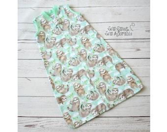 Sleep Sack-CUSTOM-You Pick Fabric-Made to Order-Infant Sleep Sack-Toddler Sleep Sack-Sleep Bag-Baby Bag-Wearable Blanket-Zip Up Blanket