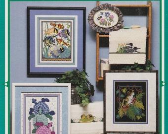 """Stoney Creek Cross Stitch Patterns.  """" 14 Nature Patterns """". 97966."""