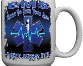 EMS Shock You Large 15 oz. Coffee Mug