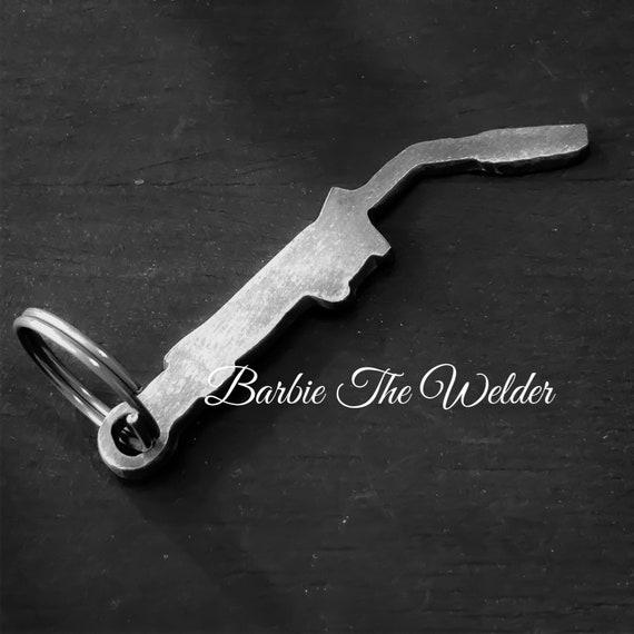 Mig Welder Torch Keychain Zipper Pull Charm Metal Art Keys Etsy