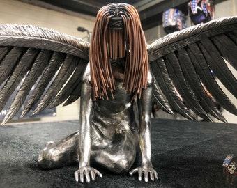 Hope Metal Sculpture by Barbie The Welder