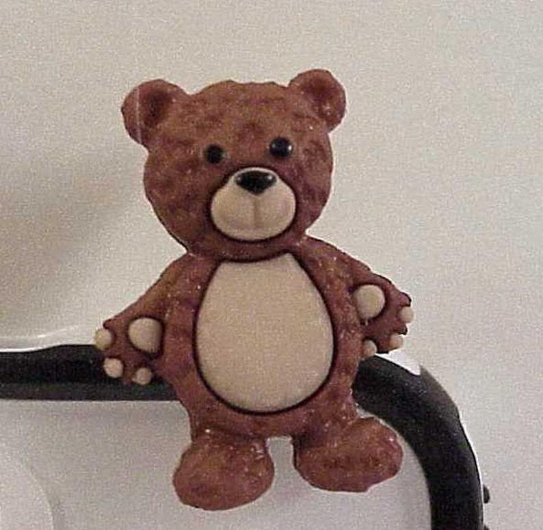 Ear Phone Charm Dust Plug Charm Stuffed with Love Bears eCharm Dust Plug Set for Cell Phone eReader PC Pad or any eDevice