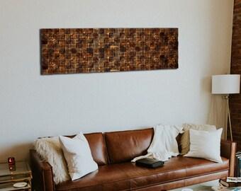 Rustic Wall Decor Pine Wood Wall Art Dorm Decor Living Room Etsy