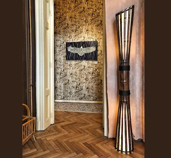 Mobili In Bambu.Mobili Di Bambu Lampada Lampada Di Pavimento Di Bambu Soggiorno Camera Da Letto Lampada Bambu Bambu Recupero Lampada Di Wood Oggettistica Per La