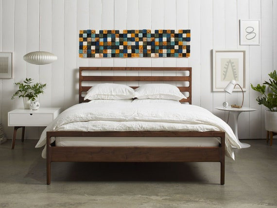 differently 86849 bd221 Above Bed Decor, Headboard King, Wall Hanging Decor, Wood Wall Decor,  Farmhouse Decor, Bedroom Wall Decor, Art Decor, Over The Bed Decor