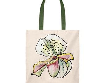 Orchid Tote Bag - Vintage