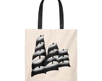 Sailplan tall ship the Sedov