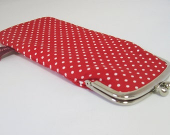 """Glases Case """"Red Dots"""""""