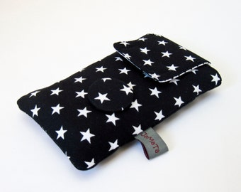"""Case for iPhone */iPod Touch */Smartphone """"Black Star"""", can be made for every mobile phone or smartphone"""