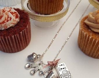 Bake a Cake Charm Necklace