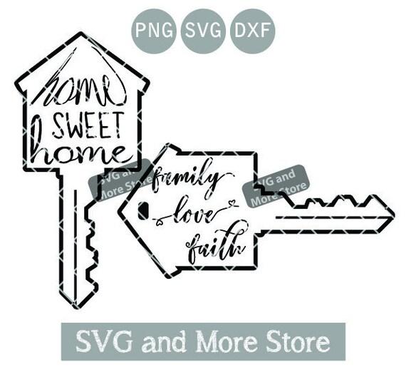 Real Estate Home Sweet Home Svg House Key Realtor House Etsy