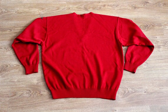 Paul and Shark yachting red wool sweater 90s Naut… - image 3