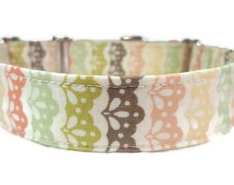 Vintage Lace Inspired  * Dog Collar * Cat Collar * Martingale Collar * Buckle Collar * Chain Martingale * Breakaway Cat Collar