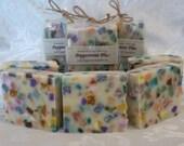 PEPPERMINT PLUS Soap - Handmade Luxury Artisan Bath Soap - 4.5 oz. Bar