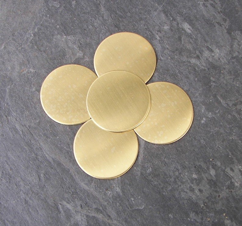 Hand Stamping Supplies .125 18 thick Copper . For Hand Stamping Copper 1.5 discs circles Plasma cut Blanks 10-400