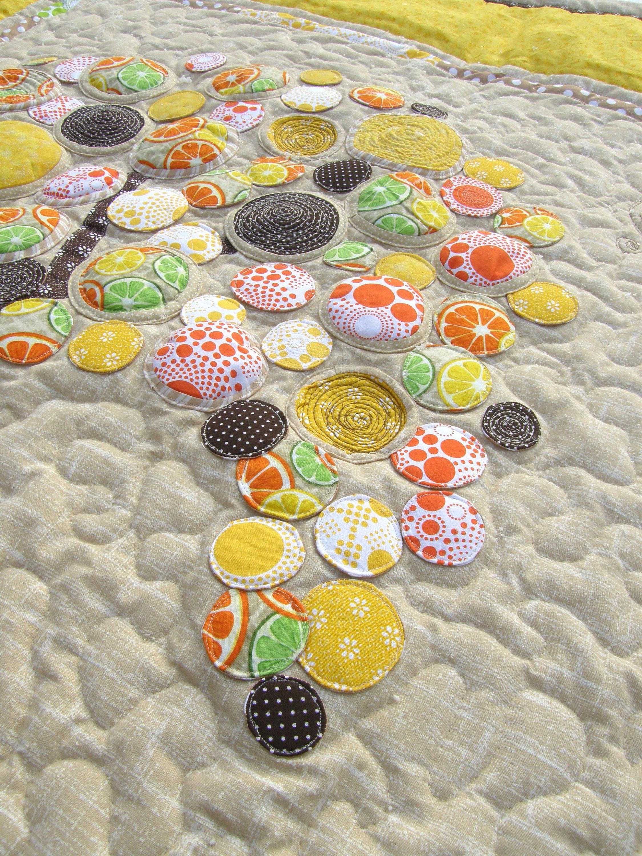 Quilt, quilt fleur, quilt avec arbre, couette king-size, lit double couette, patchwork, quilt à la main, couette appliqué, patchwork, cadeau,