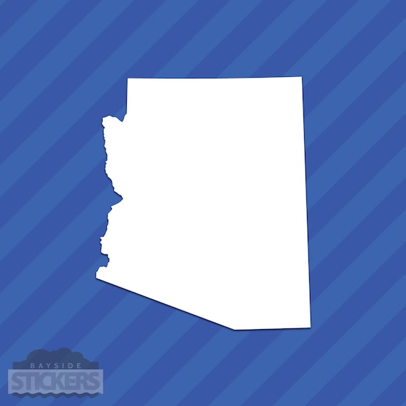 Arizona AZ State Outline Vinyl Decal Sticker