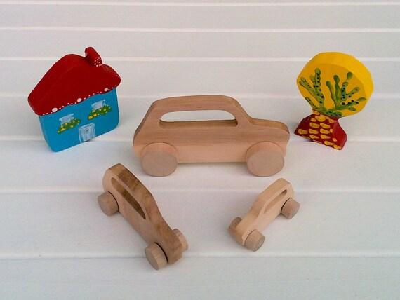 Jouets en bois sur roues - Mini Morris
