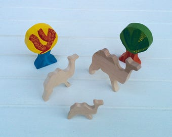 Wooden Toys - Animal Family - Camel