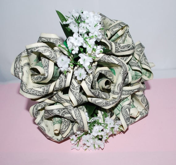 Money roses money flower bouquet rose bouquet origami mightylinksfo