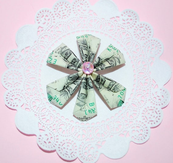 My Amazing Money FLOWER | Origami Dollar Tutorial DIY (NProkuda ... | 538x570