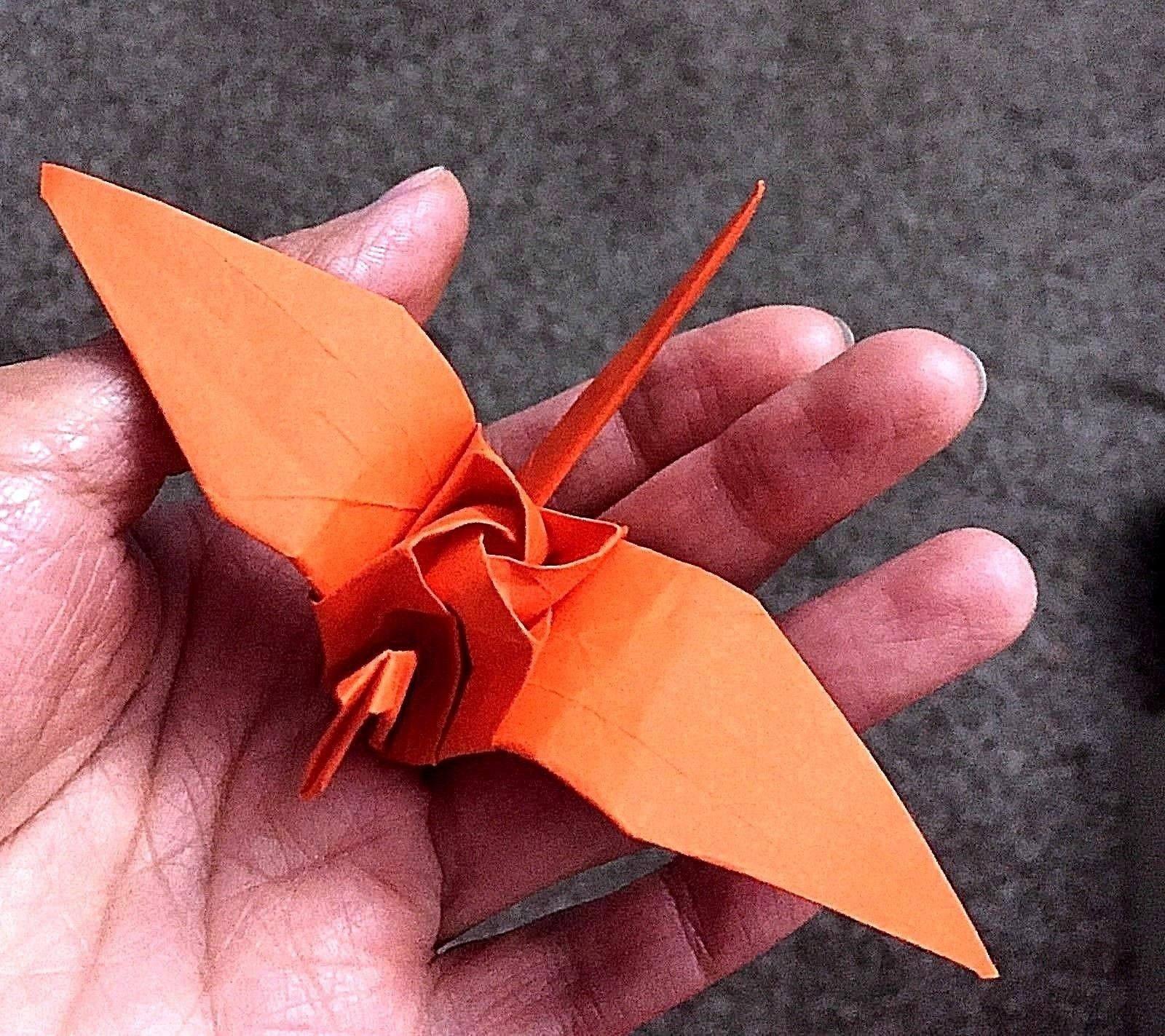 Origami Crane Origami Rose Crane Origami Bird Paper Etsy