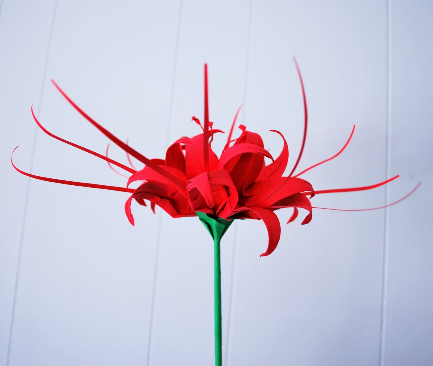 Lily paper lily origami lily spider lily centerpiece etsy izmirmasajfo