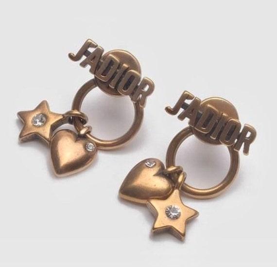 Christian DIOR earrings | Dior Earrings Rhinestone