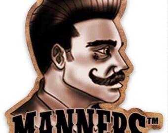 """3"""" Die Cut Logo Stickers"""