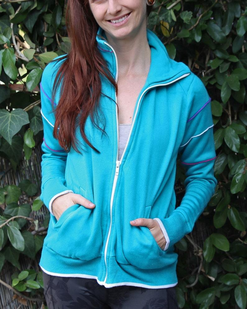 Vintage 80/'s aqua colored sportswear\u00ae sweatersweat shirt