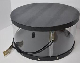 9d12e25655697 Vintage Round Hat Box 3 Size Available