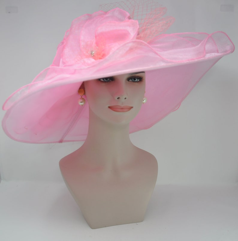 182ad111251 New Kentucky Derby Hat Church Wedding Tea Party with Two