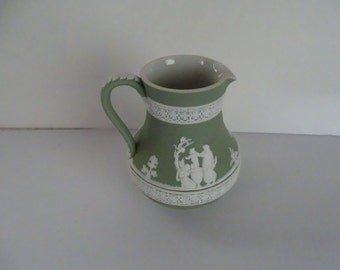 Wedgewood Sage milk pitcher 1890's