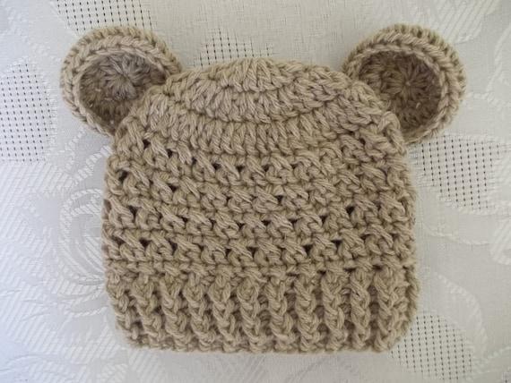 714c2590277 Sale Baby bear hat newborn bear hat baby boy hat crochet