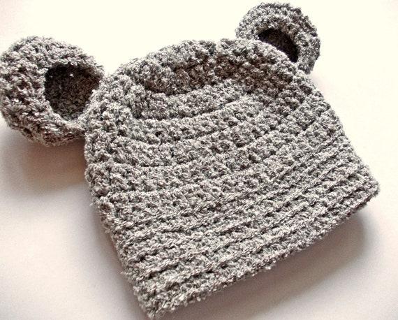 Baby Bär Hut Beige Baby Mütze Baby Tier Hut Baby Junge Hut Etsy