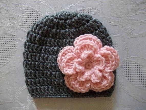 Häkeln Sie Baby Mütze Baby Mädchen Hut Neugeborenen Mädchen Etsy