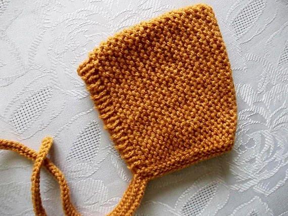 Baby elf Hut Senf gelben Hut Pixie Motorhaube stricken elf Hut | Etsy